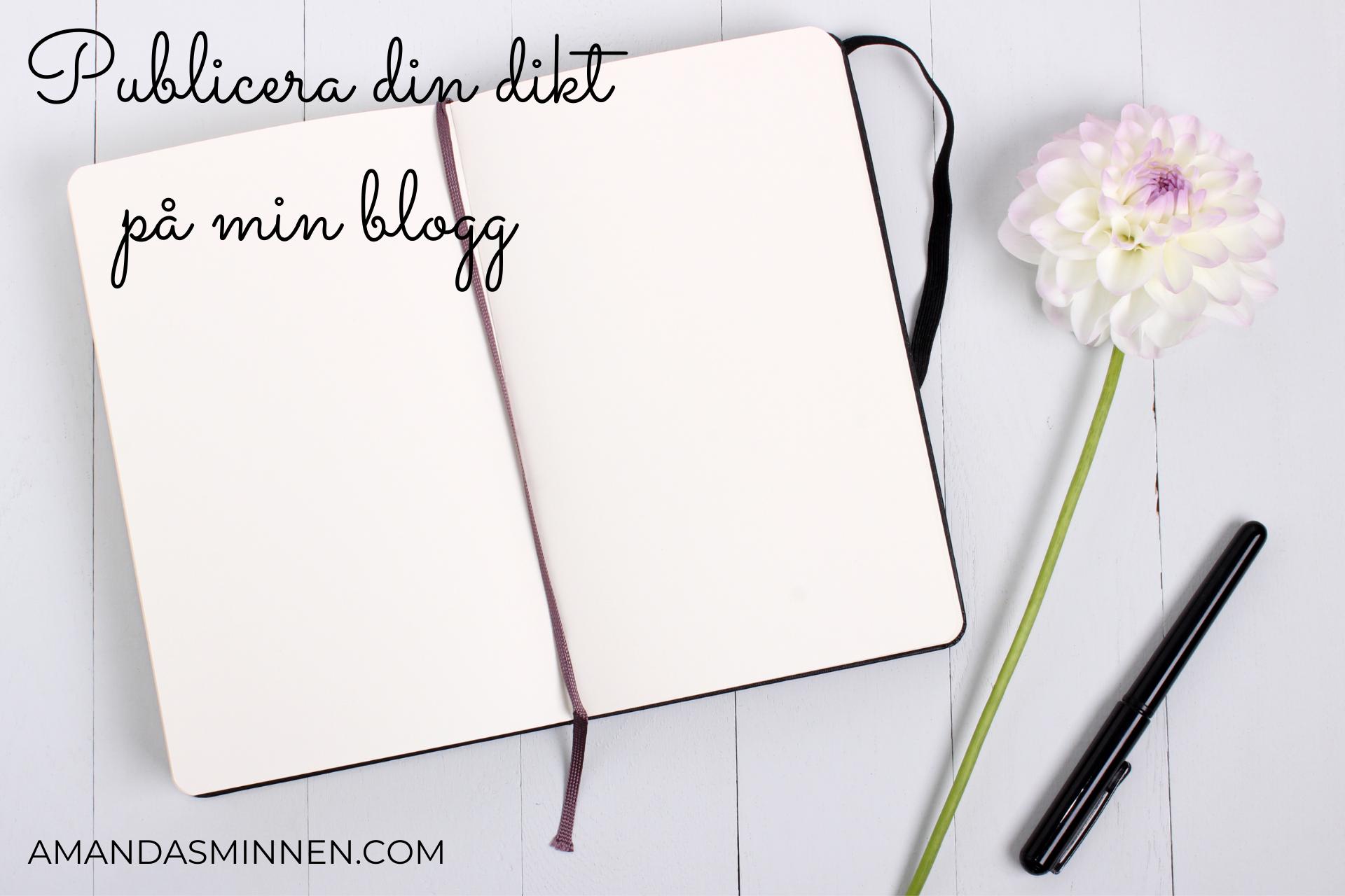 Publicera din dikt på min blogg (1)