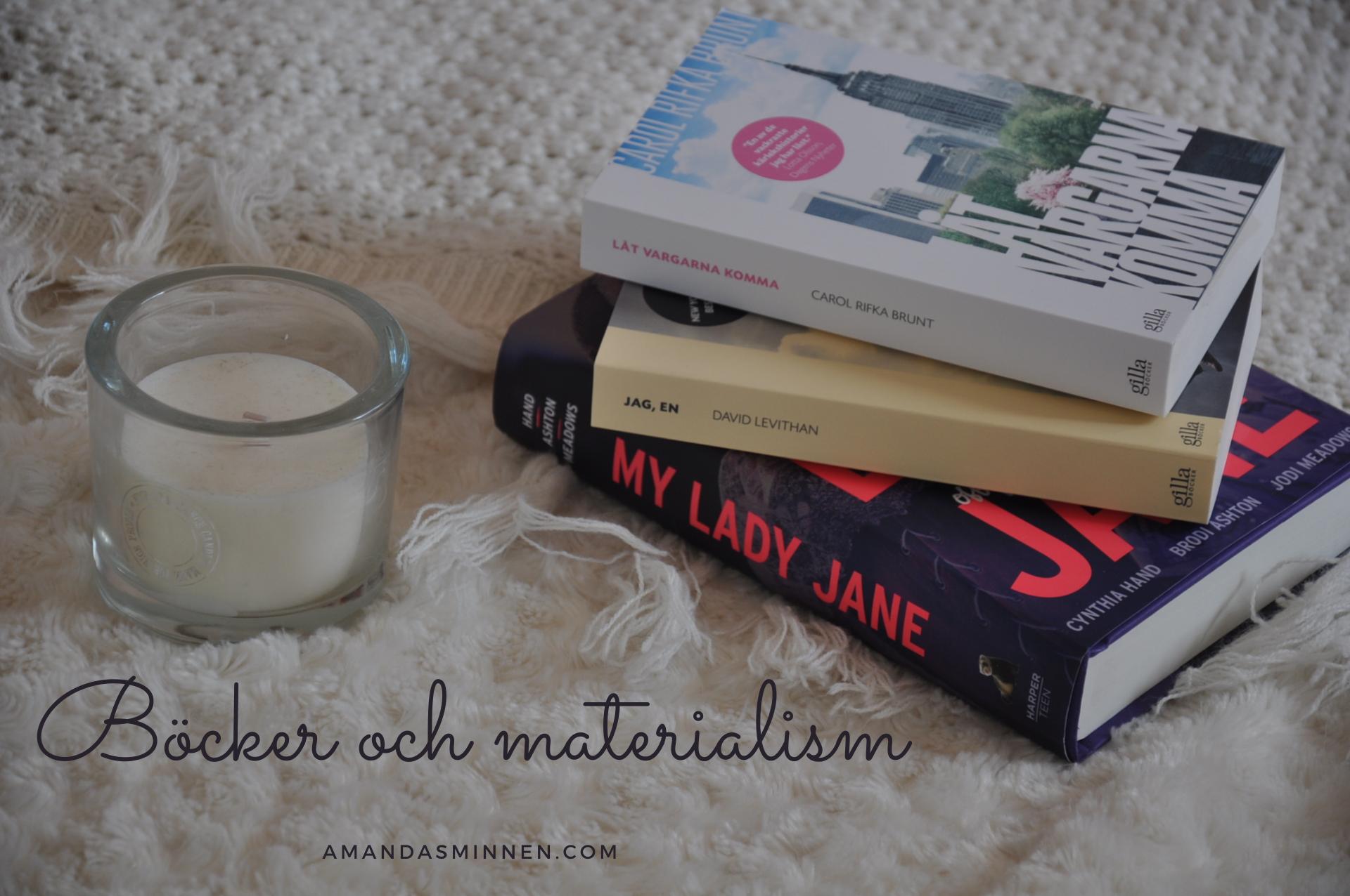 Böcker och materialism